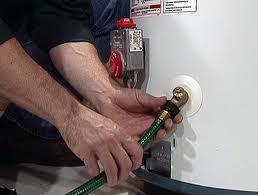 hot water heater flush chesapeake